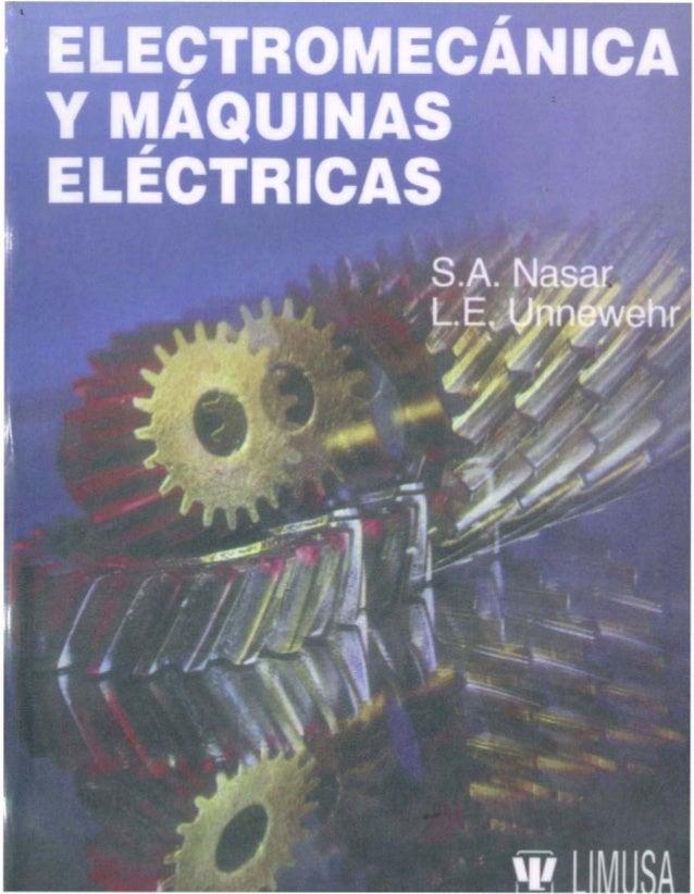 ELECTROMECANICA y MAQUINAS ELECTRICAS