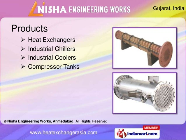 Gujarat, India    Products            Heat Exchangers            Industrial Chillers            Industrial Coolers     ...