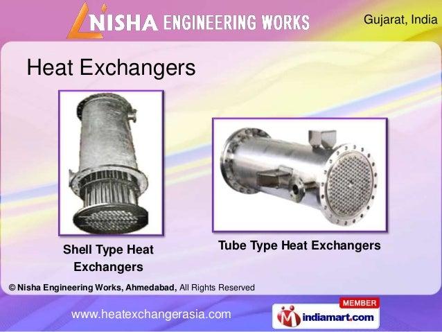Gujarat, India    Heat Exchangers            Shell Type Heat                     Tube Type Heat Exchangers             Exc...