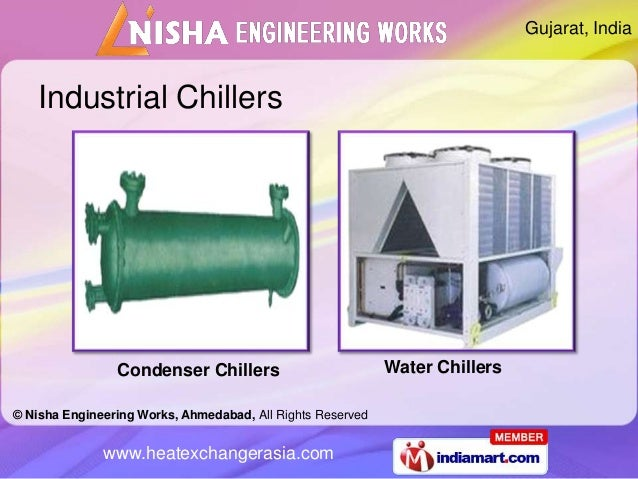 Gujarat, India    Industrial Chillers                Condenser Chillers                          Water Chillers© Nisha Eng...
