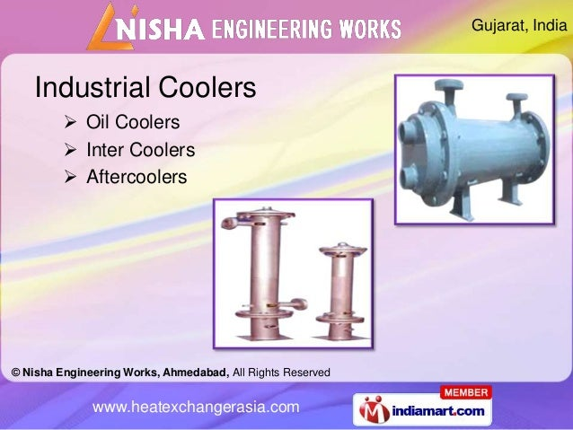 Gujarat, India    Industrial Coolers          Oil Coolers          Inter Coolers          Aftercoolers© Nisha Engineeri...