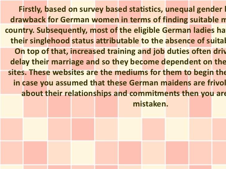 German mail order brides