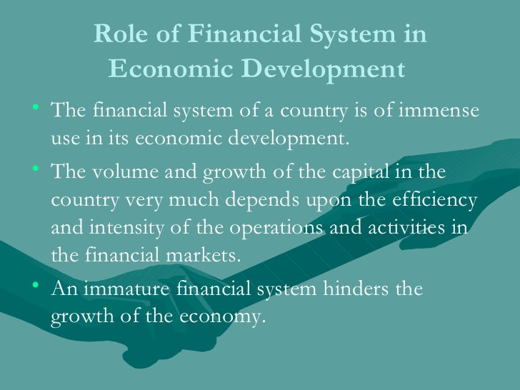 the principle role of financial intermediaries essay Start studying institutions & markets learn the recent decline in the role of financial intermediaries accounting principles and disclose.