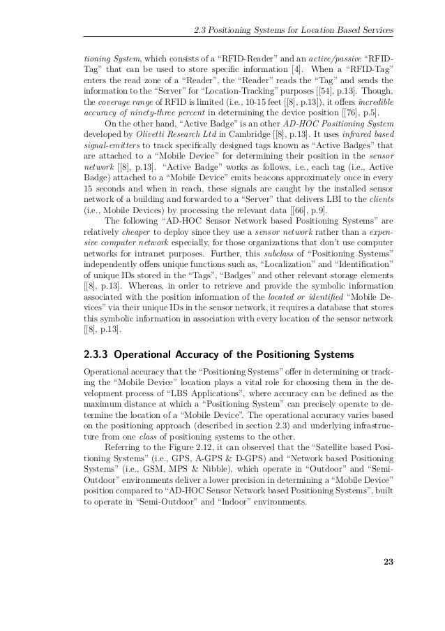 Master thesis on rfid