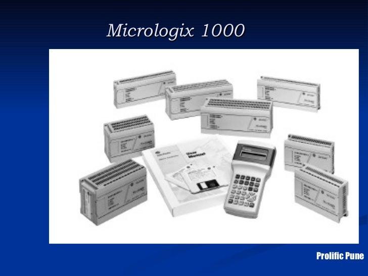 Micrologix 1000                  Prolific Pune