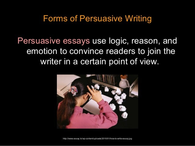 persuasive movie essay The persuasive essay might just be the most fun essay to write why because  it's all about your opinion do you think casablanca is actually a terrible movie.