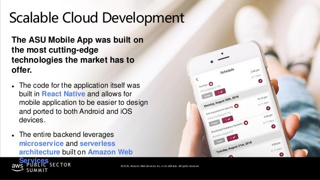 © 2019, Amazon Web Services, Inc. or its affiliates. All rights reserved.P U B L I C S E C TO R S U M M I T Scalable Cloud...