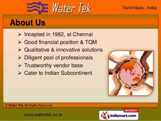 Swimming Pool Equipment by Water Tek, Chennai Slide 2