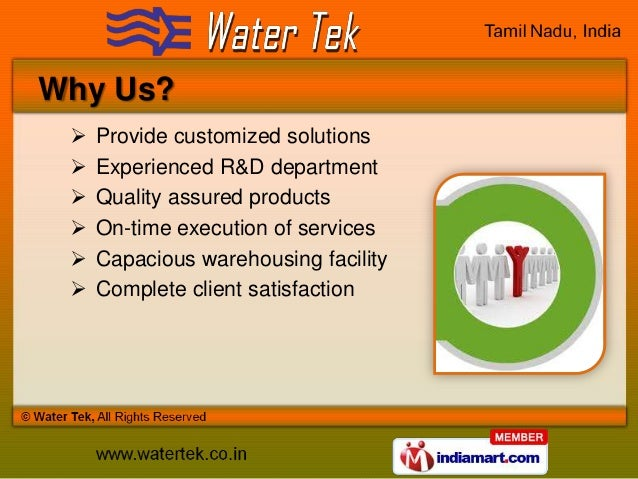 Swimming Pool Equipment by Water Tek, Chennai Slide 3