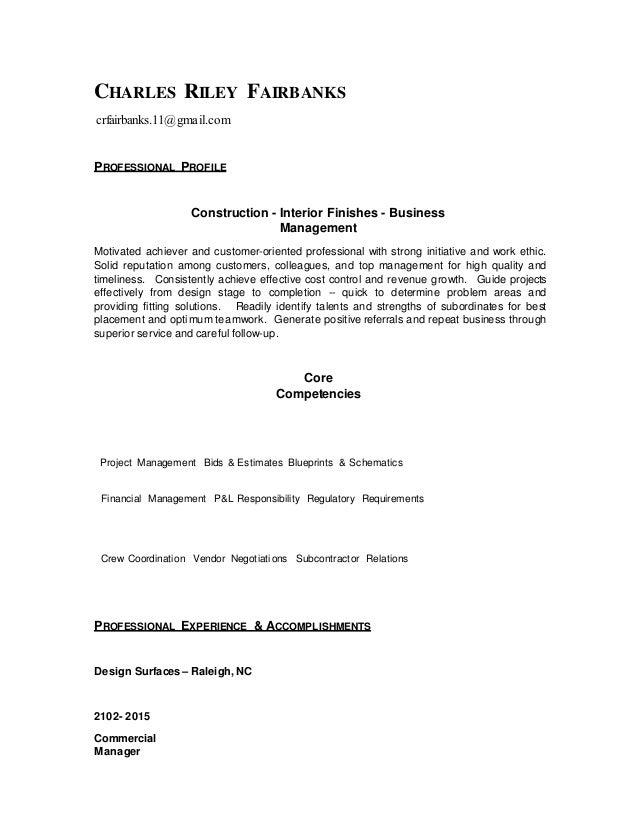 Charlie Fairbanks Resume copy