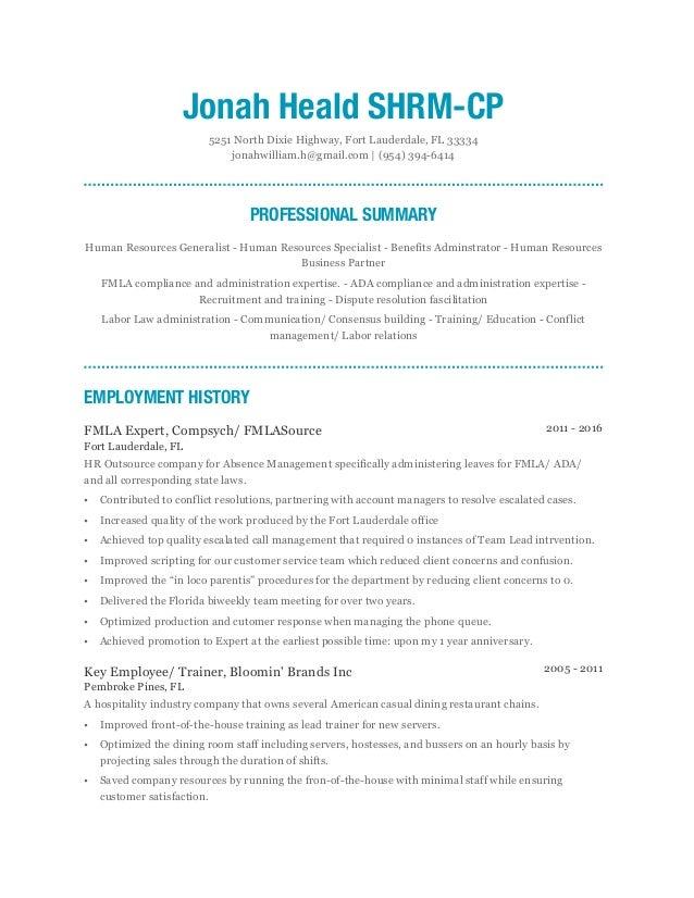 Jonah-Heald SHRM-CP-Resume-2016-05-27