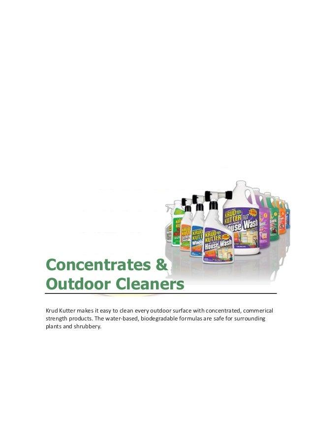 Alrais Enterprises Krud Kutter Product Catalogue 2015