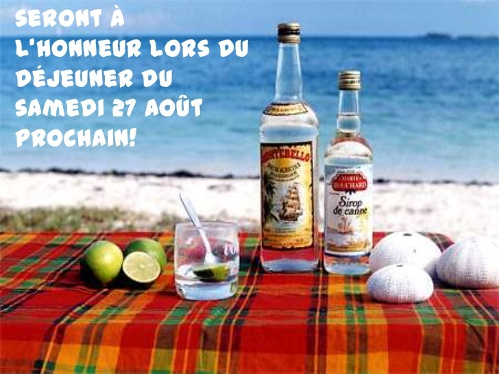 INDICE N° 1Les Antilles seront à l'honneur lors du déjeuner du samedi 27 août prochain!<br />