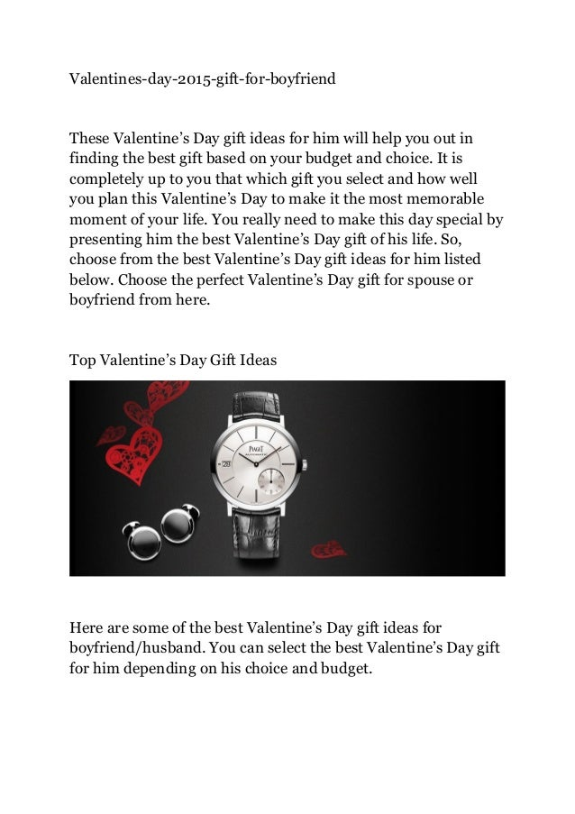 30 Best Valentine S Day Gift Ideas For Him