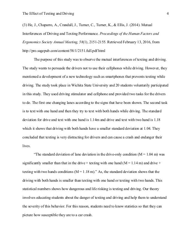 Texting and driving research paper exemplary fit admissions essay