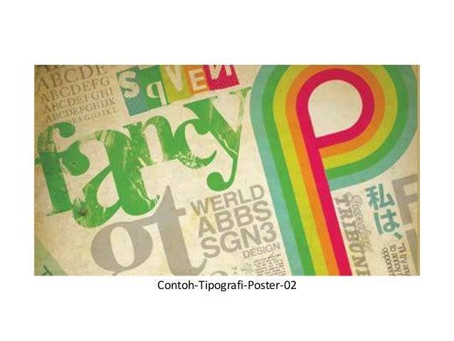 30 contoh poster dengan tipografi yang mengagumkan Slide 2