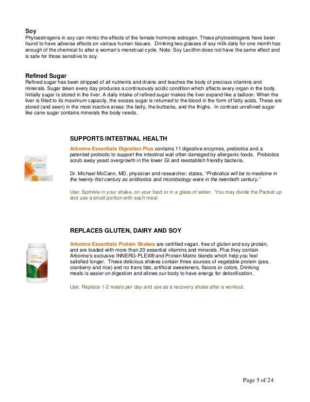 arbonne product overview pdf