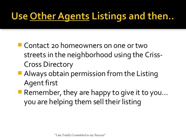  Contact 20 homeowners on one or two  streets in the neighborhood using the CrissCross Directory  Always obtain permissi...