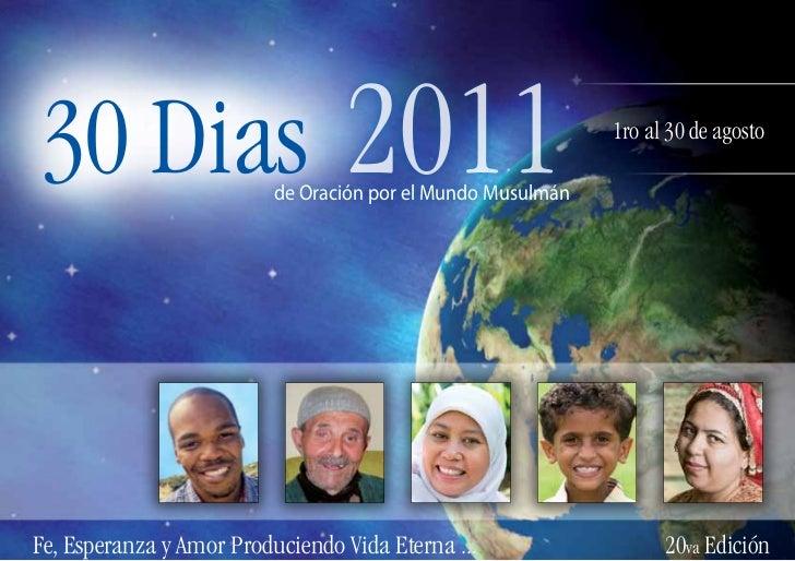 30 Dias                          2011                          de Oración por el Mundo Musulmán                           ...