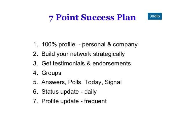 30 Day Linking Blitz 2012 Webinar 1 Slide 3