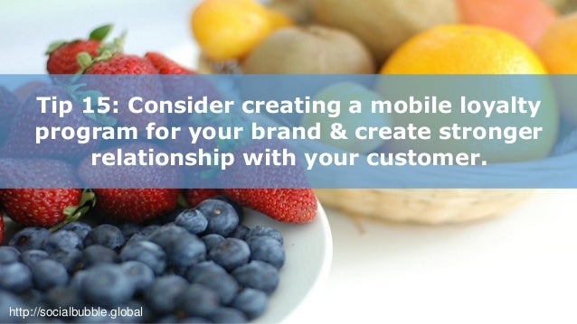 http://socialbubble.global Tip 16: Keep your mobile site simple, easy to navigate.
