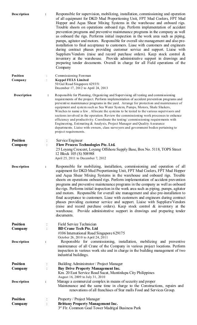 multiple same company resumes