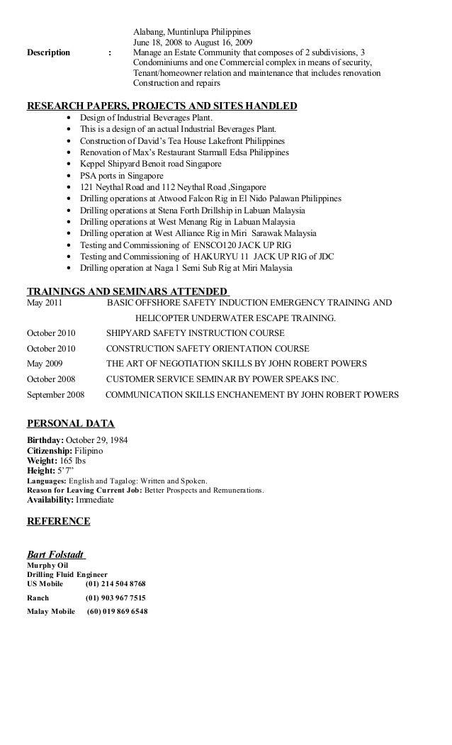 Resume 2016 Ph Updated