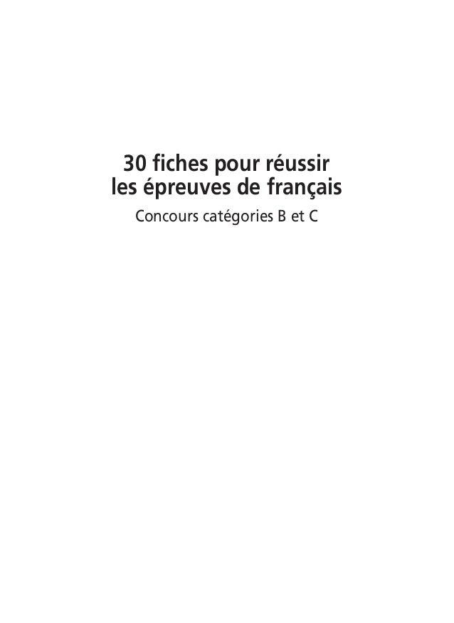 30fichespourfrancais   Slide 2
