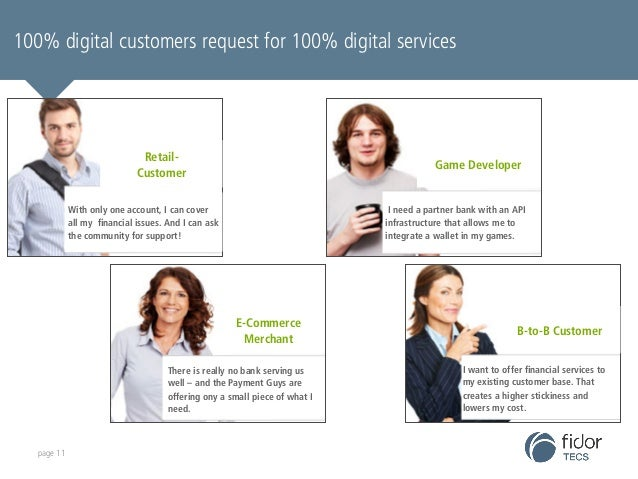 fidorOS is set up to become the most accessible banking IT  system, globally 100% digital customers request for 100% digit...
