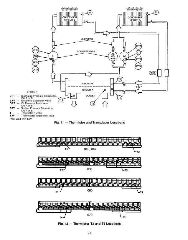 30 gt040 070-carrier flotronic, Wiring diagram