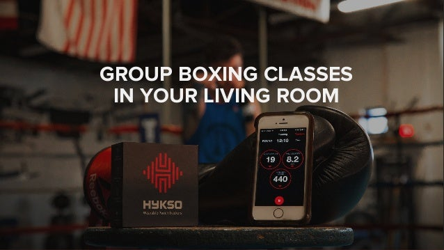 GROUP BOXING CLASSES IN YOUR LIVING ROOM
