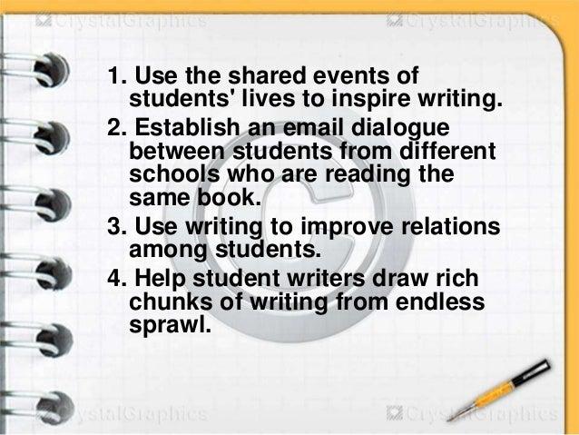 30 ideas for teaching writing Slide 3
