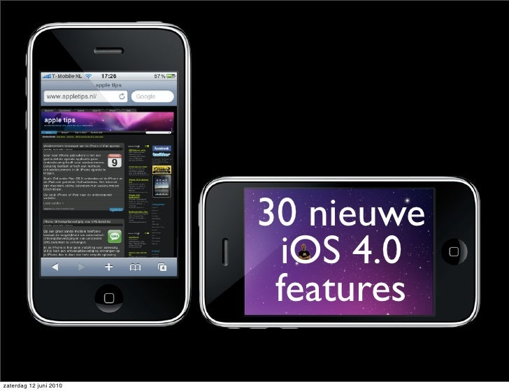 45 nieuwe  iOS 4.0  features         v2.0