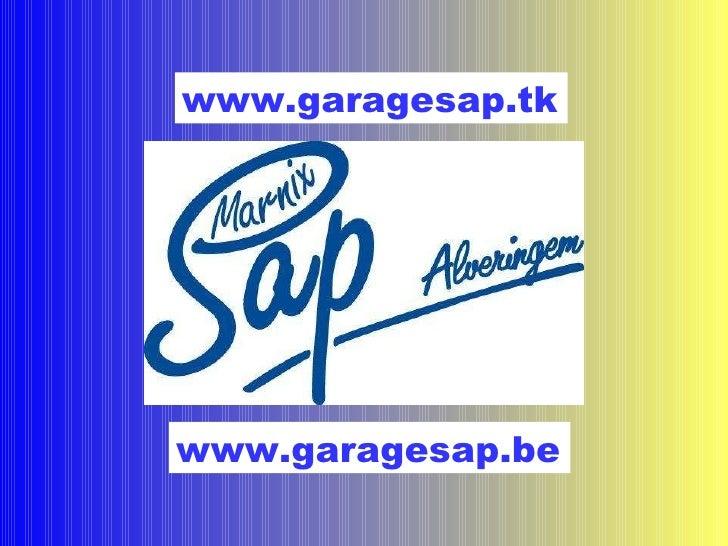 www.garagesap.be www.garagesap.tk
