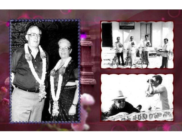 Prägende Leiter: K. Tata Rao, Bro. Rajarmani …u.v.a.m.
