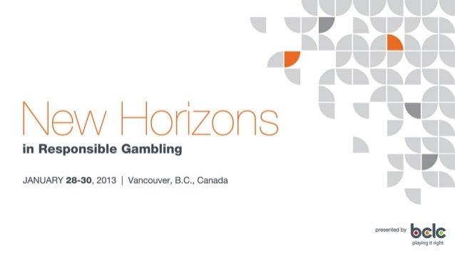 Dr. Bo BernhardResponsible Gambling Around the World: A Global Scan.