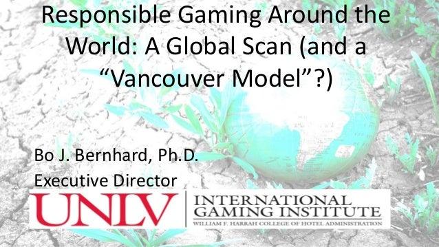 Dr. Bo Berhard - Responsible Gambling Around the World Slide 3
