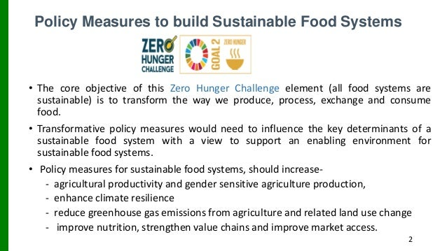 Identification, Integration, and Mainstreaming FSF into National FSN Strategy Promoting Agriculture Diversification Towards Zero Hunger: A Situation Overview and Way Forward to Empirical Research Slide 2