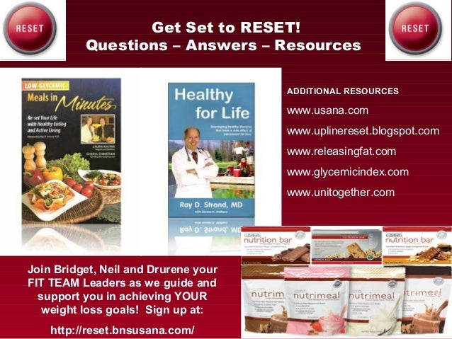 Reviewing USANA Reset What You Can Expect from the Product