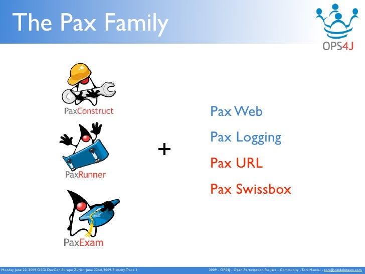 The Pax Family                                                                                             Pax Web        ...