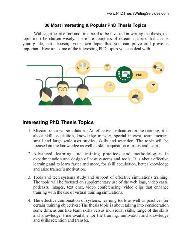 research paper topics 2017