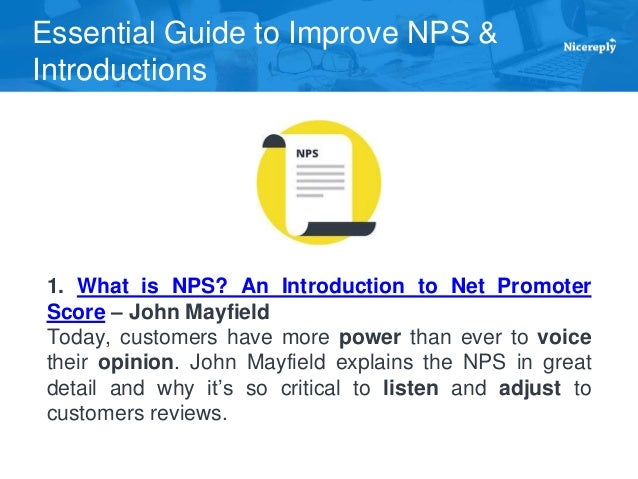 2e04187ba526 3. Essential Guide to Improve NPS   Introductions 2. How effective is Net  Promoter Score ...