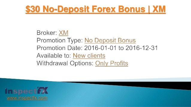New forex bonus no deposit