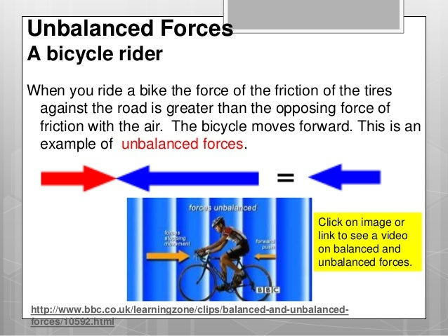 Balanced And Unbalanced Forces Ppt