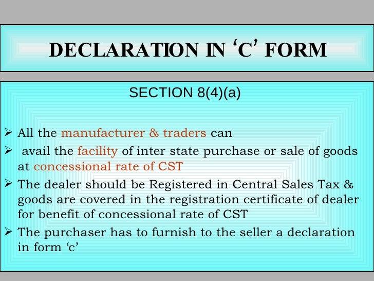 Presentation On C Form