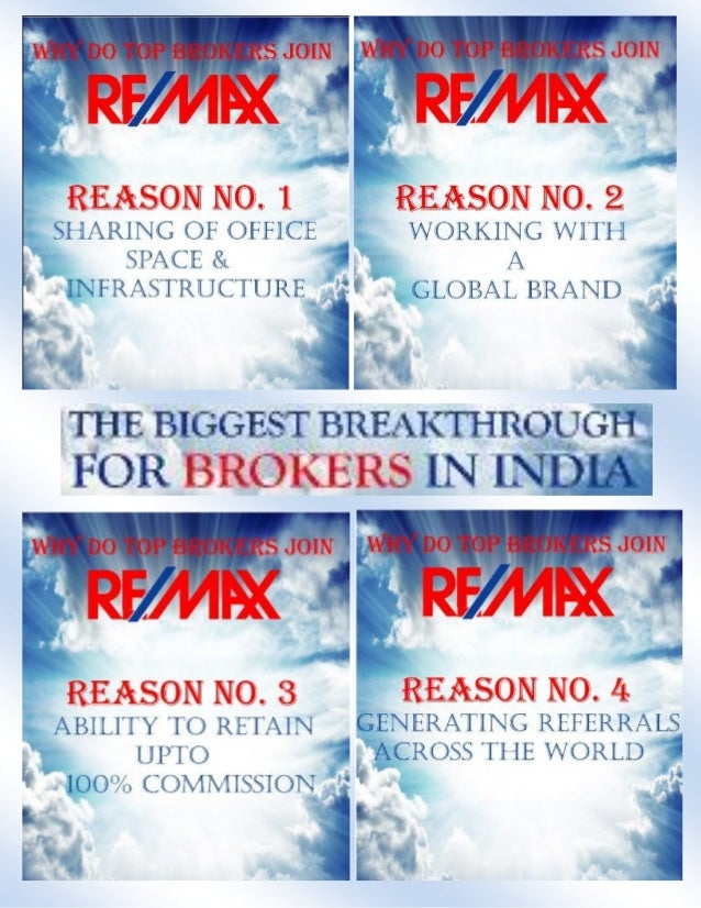 Top 30 reasons to associate with RE/MAX
