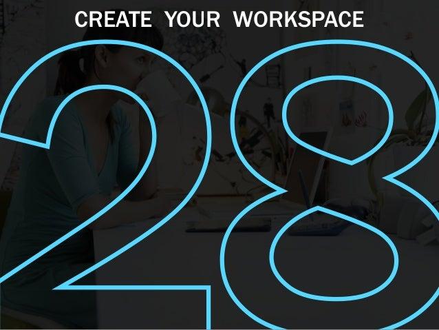 how to create a workspace editey