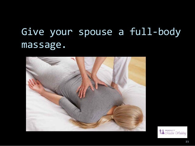 how to give a romantic massage