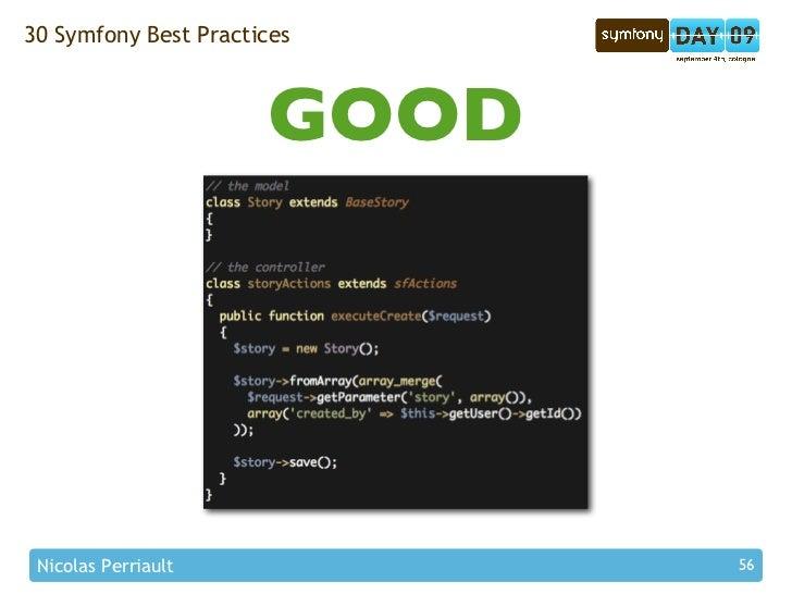 30 Symfony Best Practices                          GOOD      Nicolas Perriault           56