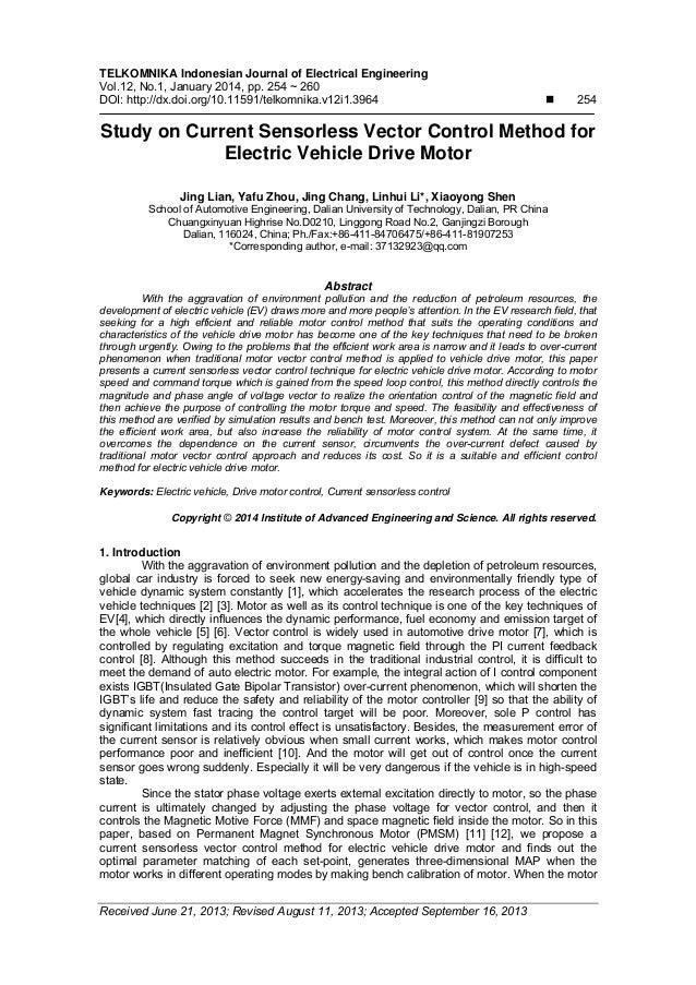 Sensorless vector control ppt to pdf